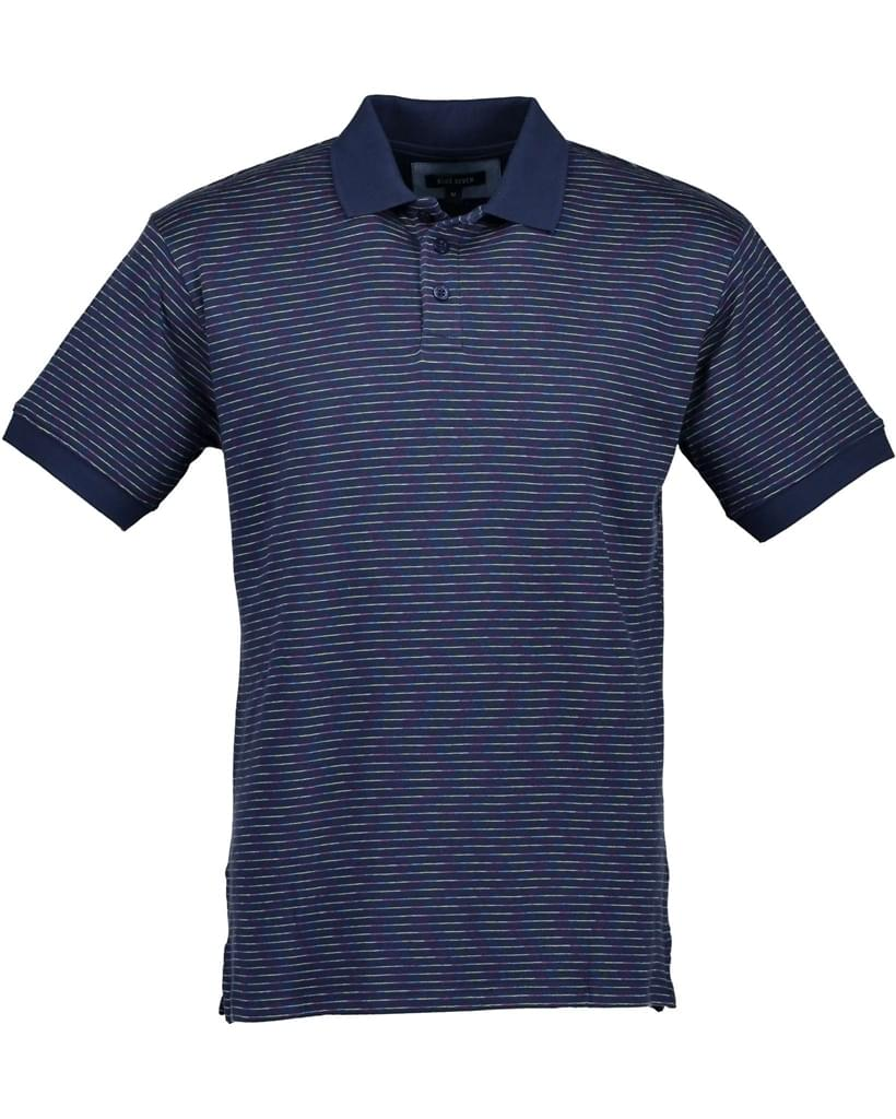 Blue Seven Polo Heren Blauw