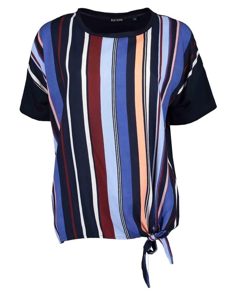 Blue Seven Oversized Shirt Dames