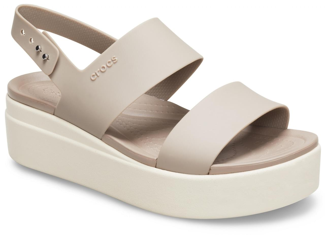 Crocs Brooklyn Low Wedge Sandaal Dames
