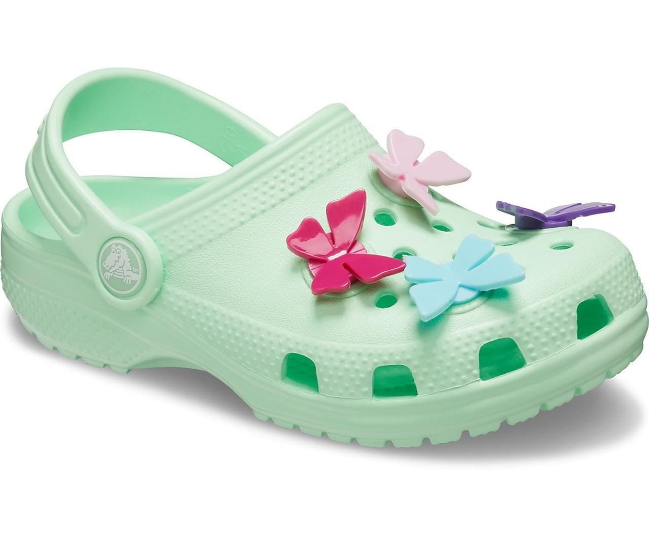 Crocs Classic Butterfly Charm Klomp Kids