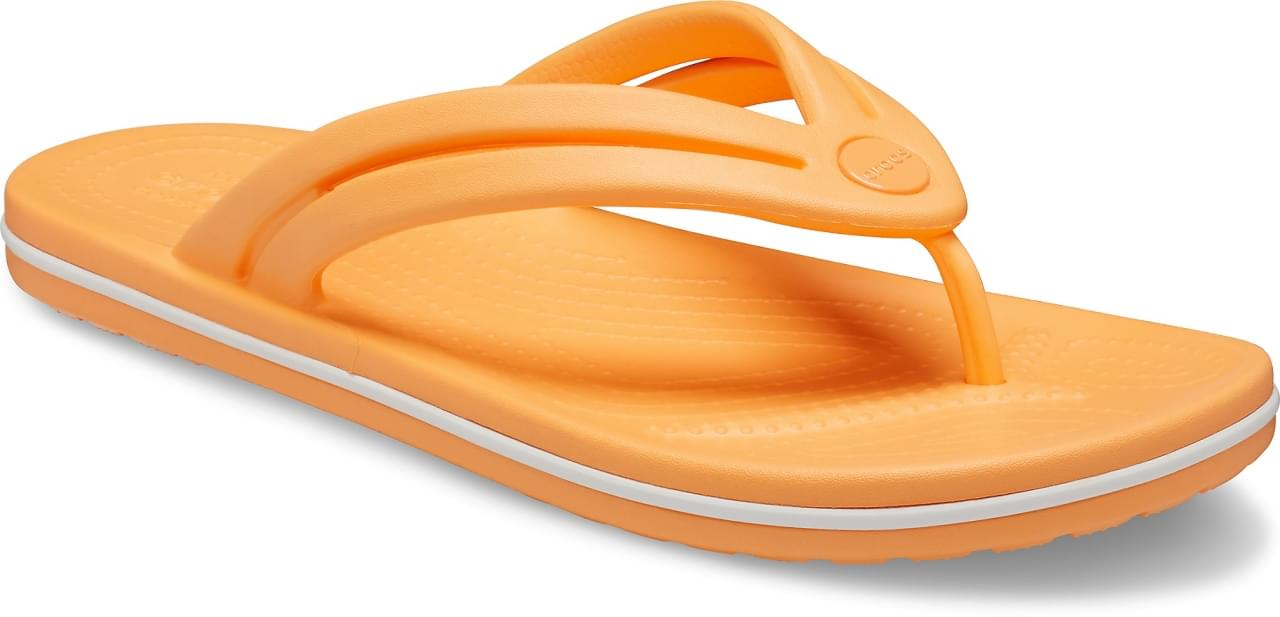 Crocs Crocband Slipper Dames Oranje