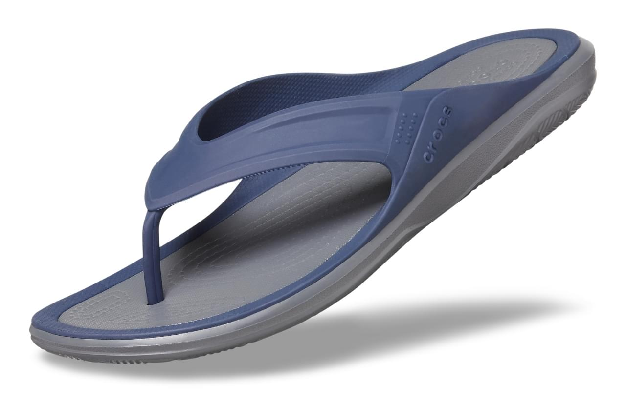 Crocs Swiftwater Wave Slipper Heren Blauw