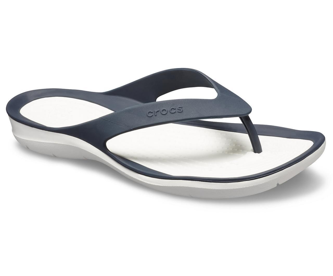 Crocs Swiftwater Flip Slipper Dames Blauw