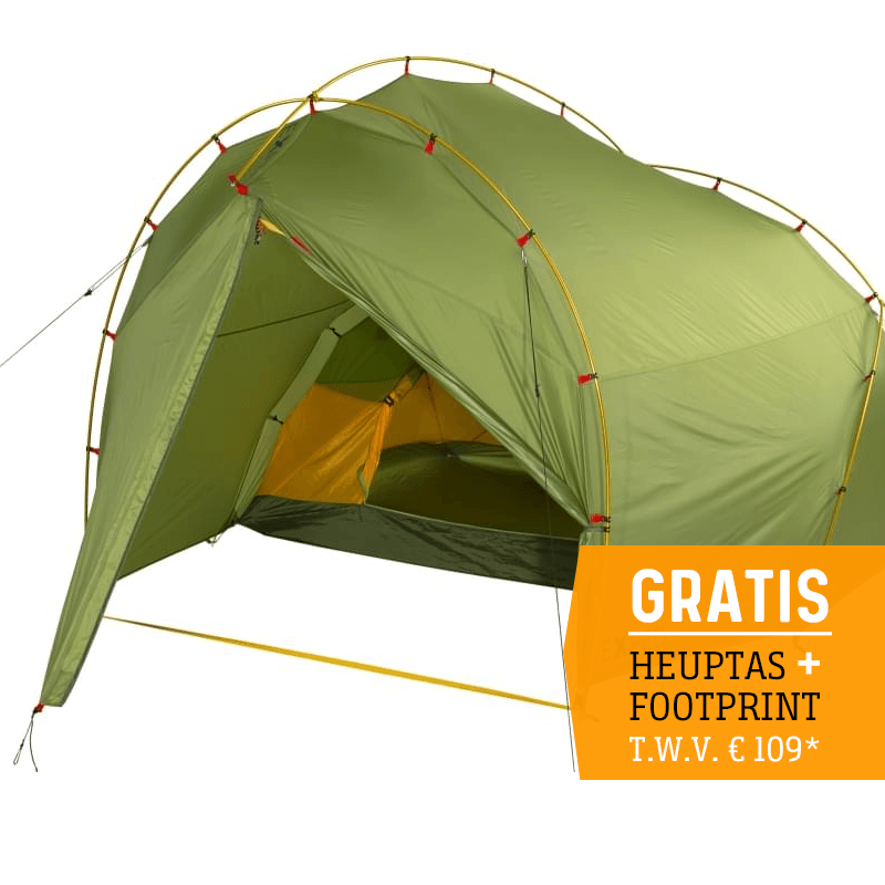 Exped Outer Space III - 3 Persoons Tent - Groen