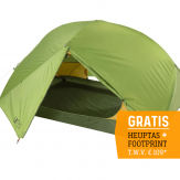 Exped Lyra III / 3 Persoons Tent - Groen