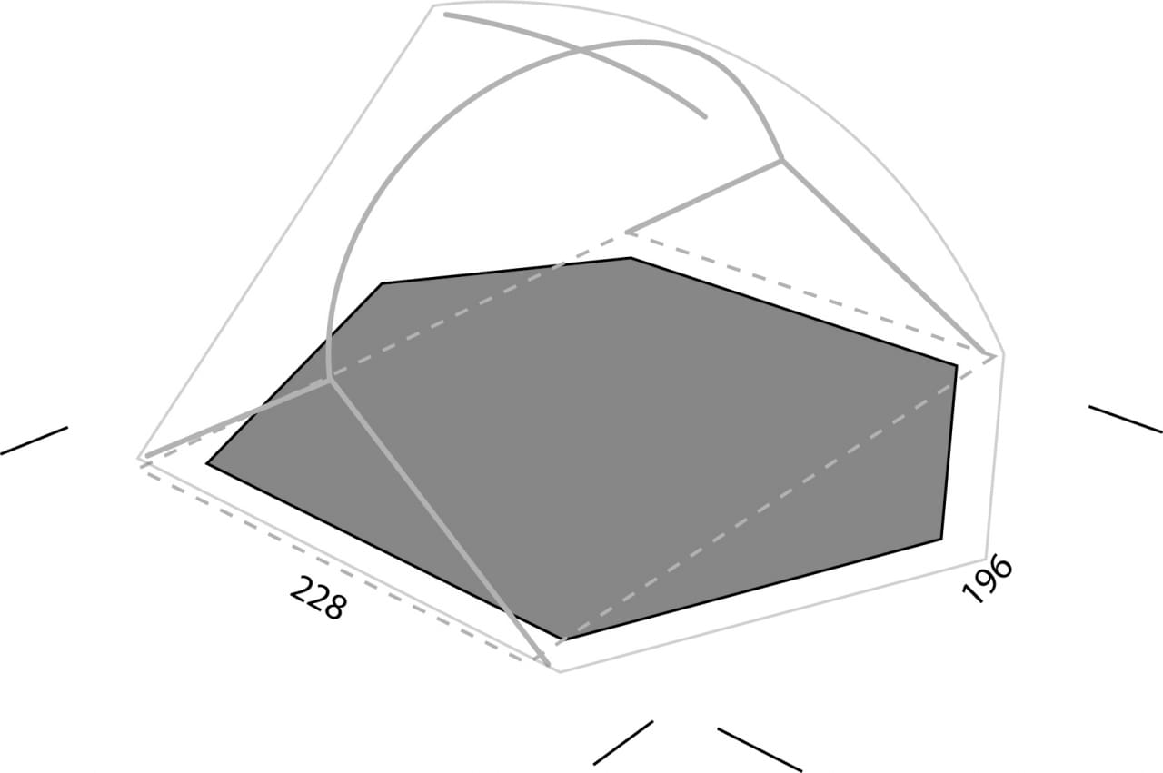 Exped Lyra II Footprint
