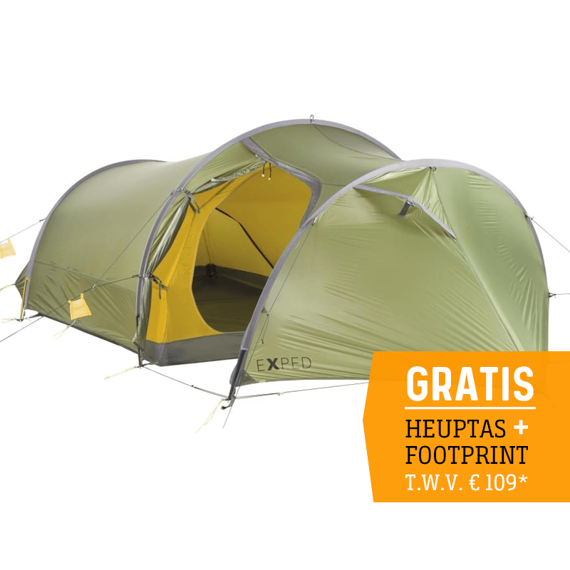 Exped Cetus III UL - 3 Persoons Tent - Groen
