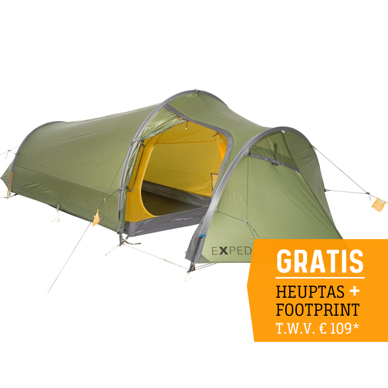 Exped Cetus II UL - 2 Persoons Tent - Groen