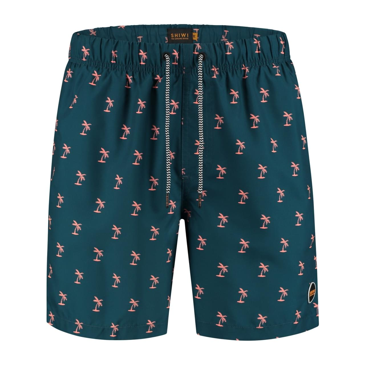 SHIWI Men Swimshort Shiwi Palmtree Heren
