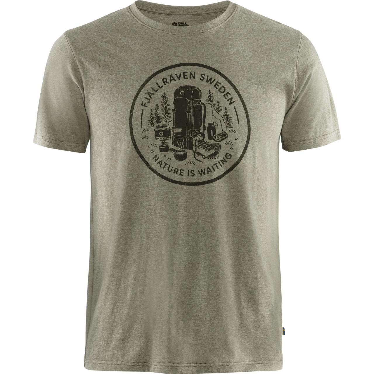 Fjallraven Fikapaus T-shirt Heren - Groen