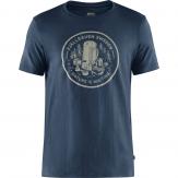 Fjallraven Fikapaus T-shirt Heren - Blauw