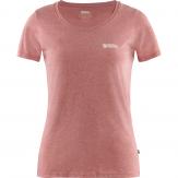 Fjallraven Logo T-shirt Dames Rood