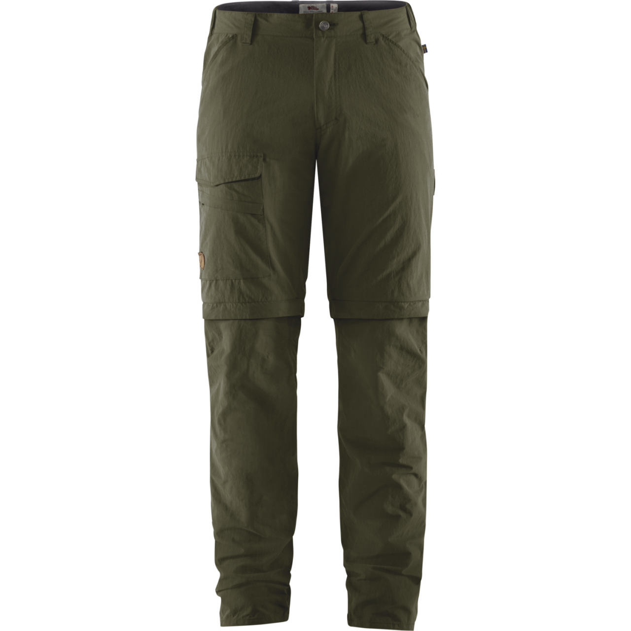 Fjallraven Travellers MT Afritsbroek Heren Groen