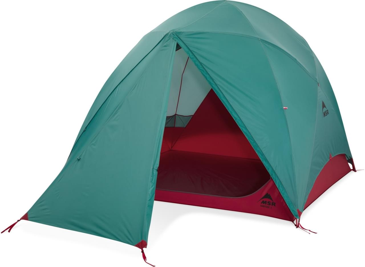 MSR Habitude 4 - 4-Persoons Tent - Blauw