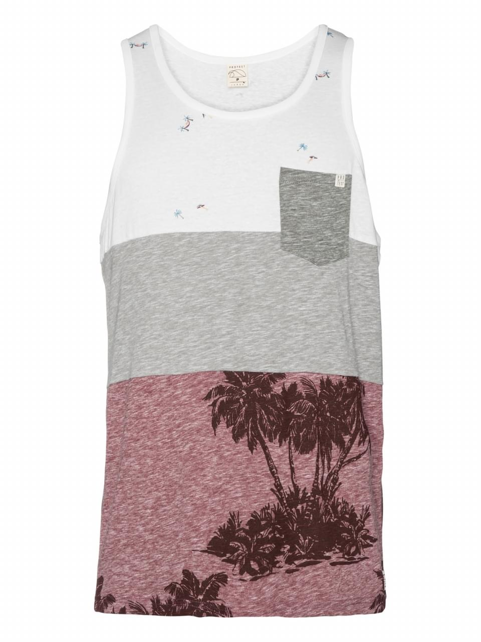 Protest Picasso Tanktop Heren