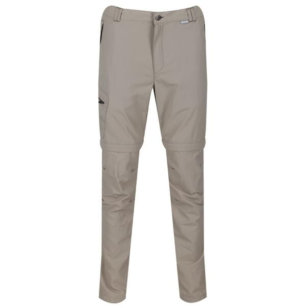 Regatta Leesville Zip-Off Trousers II Afritsbroek Heren Beige