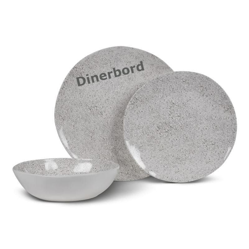 Kampa Natural Stone Dinerbord
