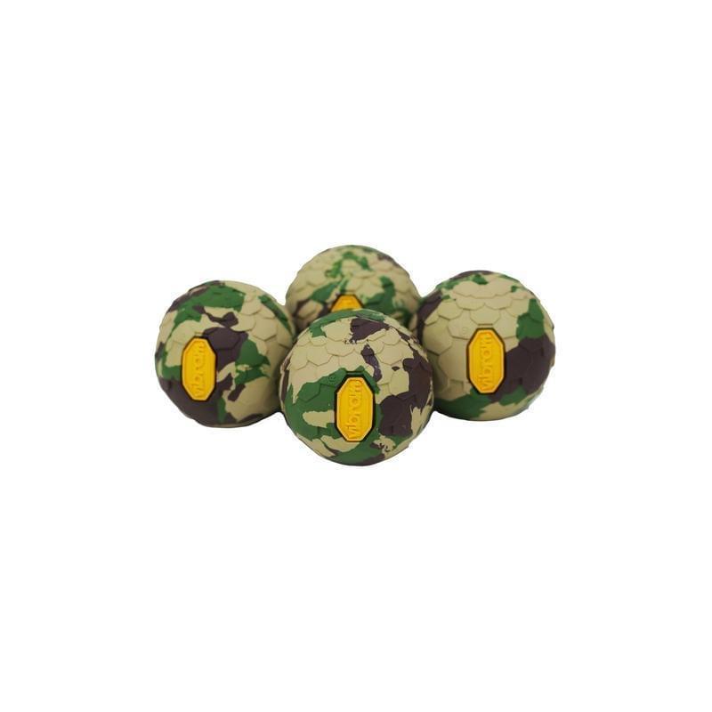 Helinox Vibram Ball Feet Set - Camouflage Groen