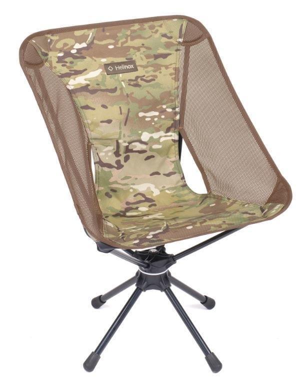 Helinox Swivel Chair Lichtgewicht Stoel - Camouflage Groen