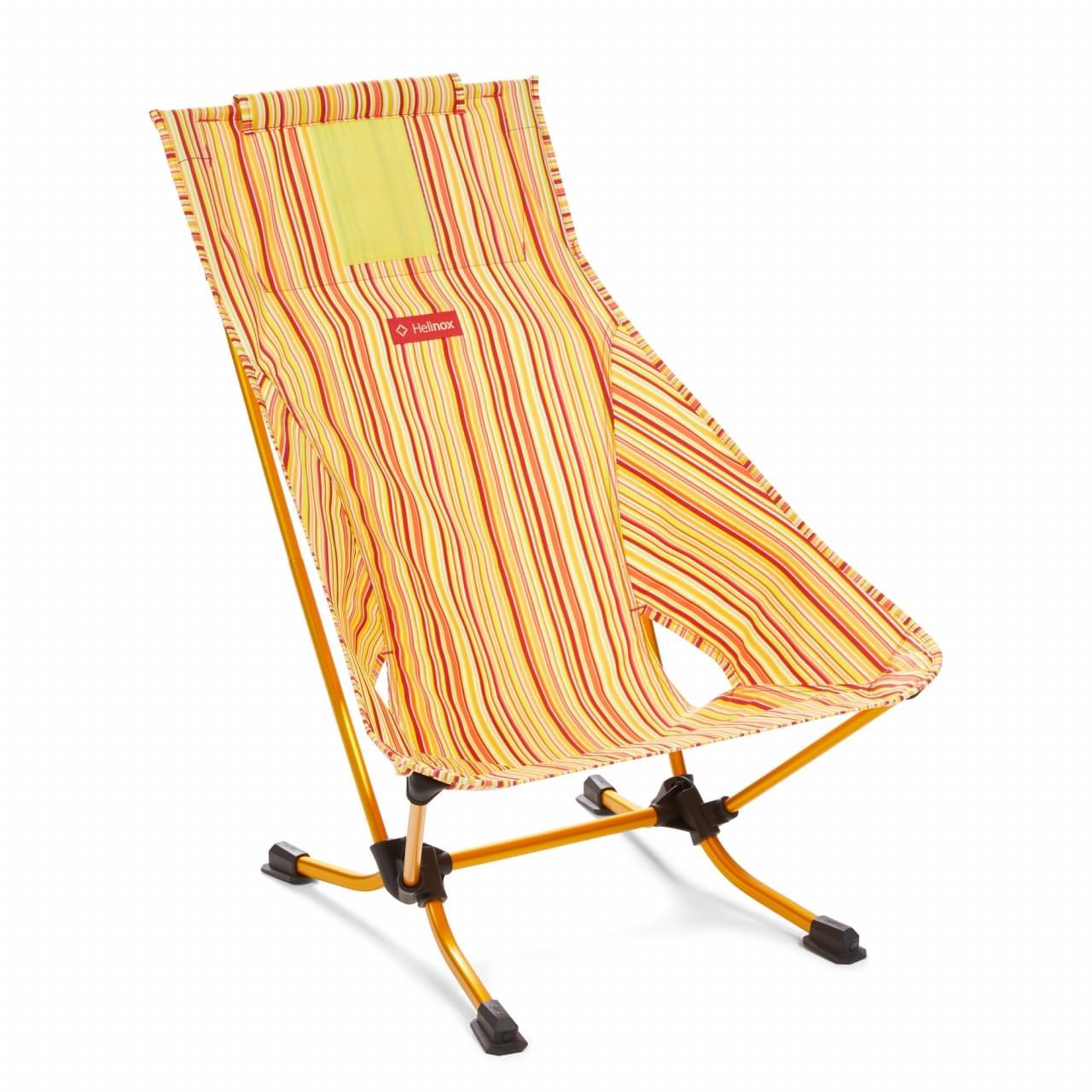 Helinox Beach Chair Stripe Lichtgewicht Stoel - Rood