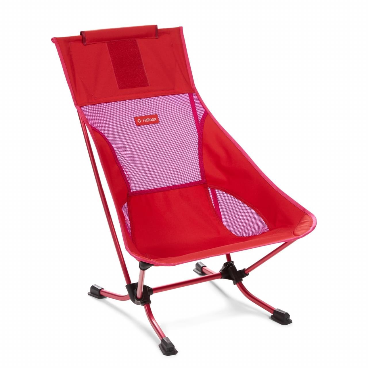 Helinox Beach Chair Block Lichtgewicht Stoel - Rood