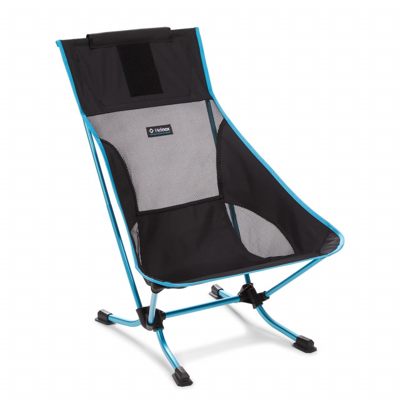 Helinox Beach Chair Lichtgewicht Stoel - Zwart