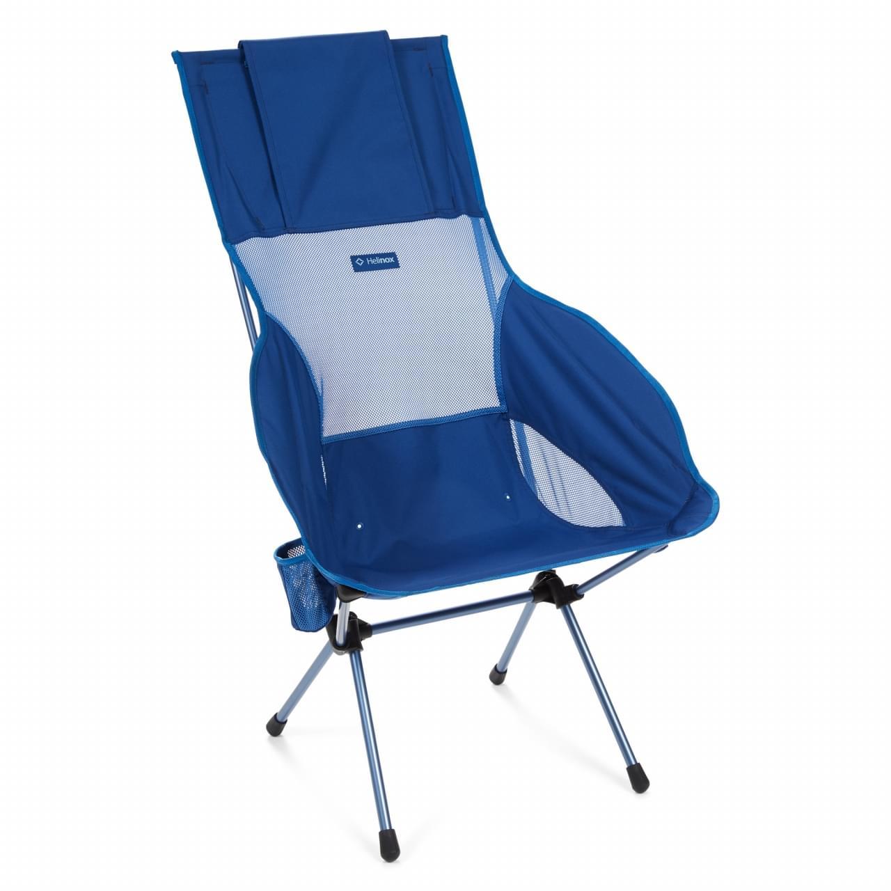 Helinox Savanna Chair Block Lichtgewicht Stoel - Blauw