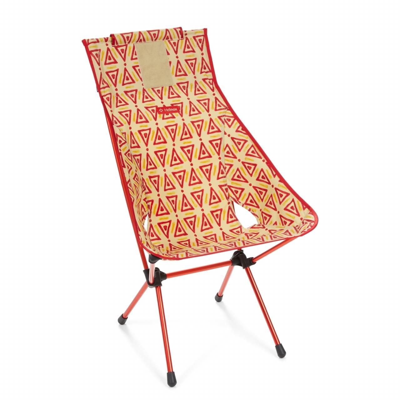 Helinox Sunset Chair Triangle Lichtgewicht Stoel - Rood