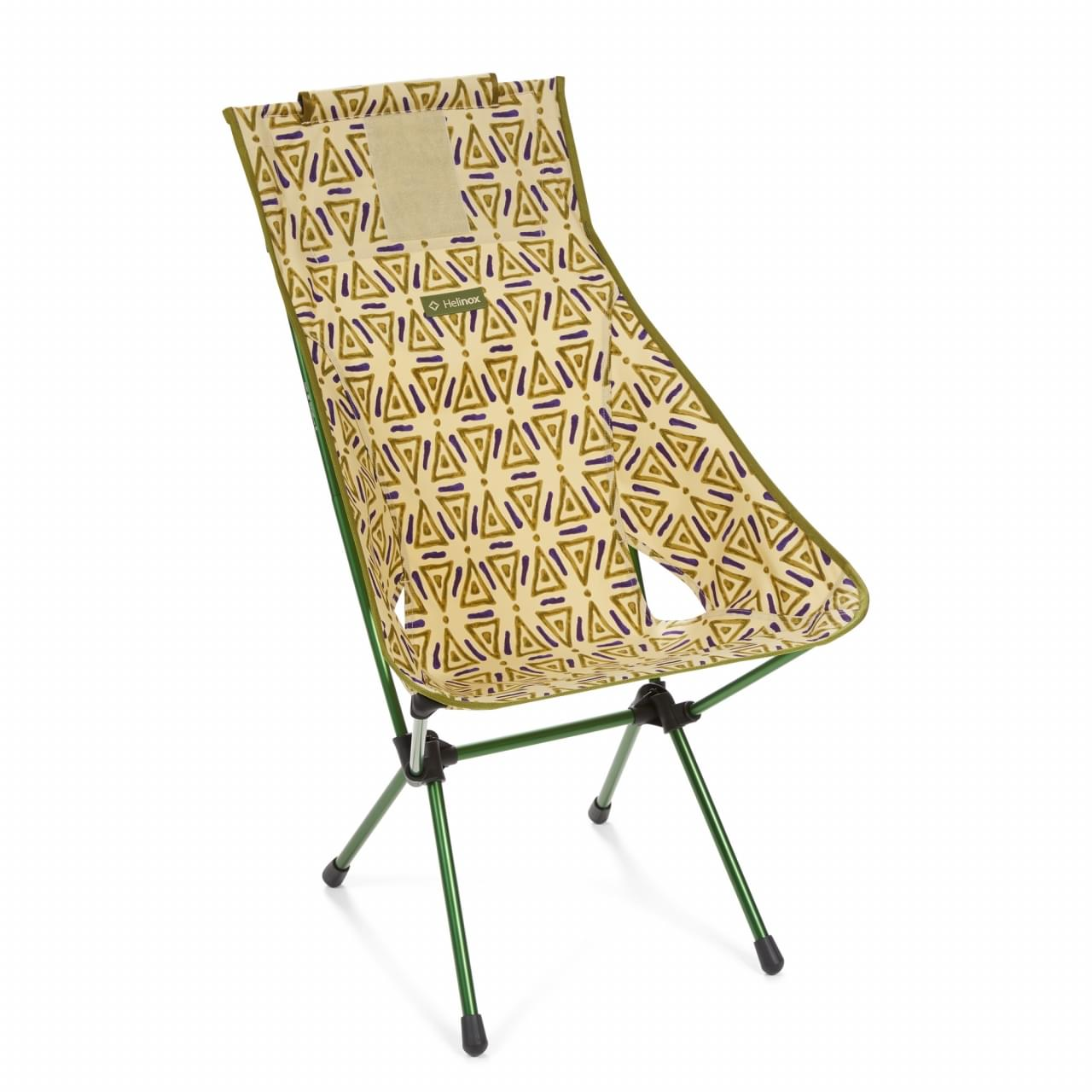 Helinox Sunset Chair Triangle Lichtgewicht Stoel - Groen