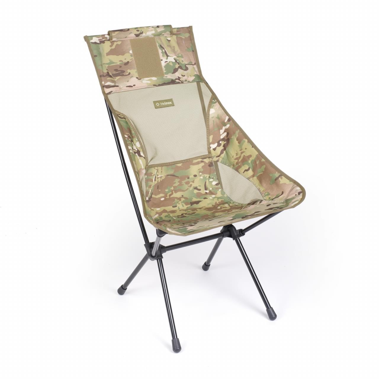 Helinox Sunset Chair Special Lichtgewicht Stoel - Camouflage Groen