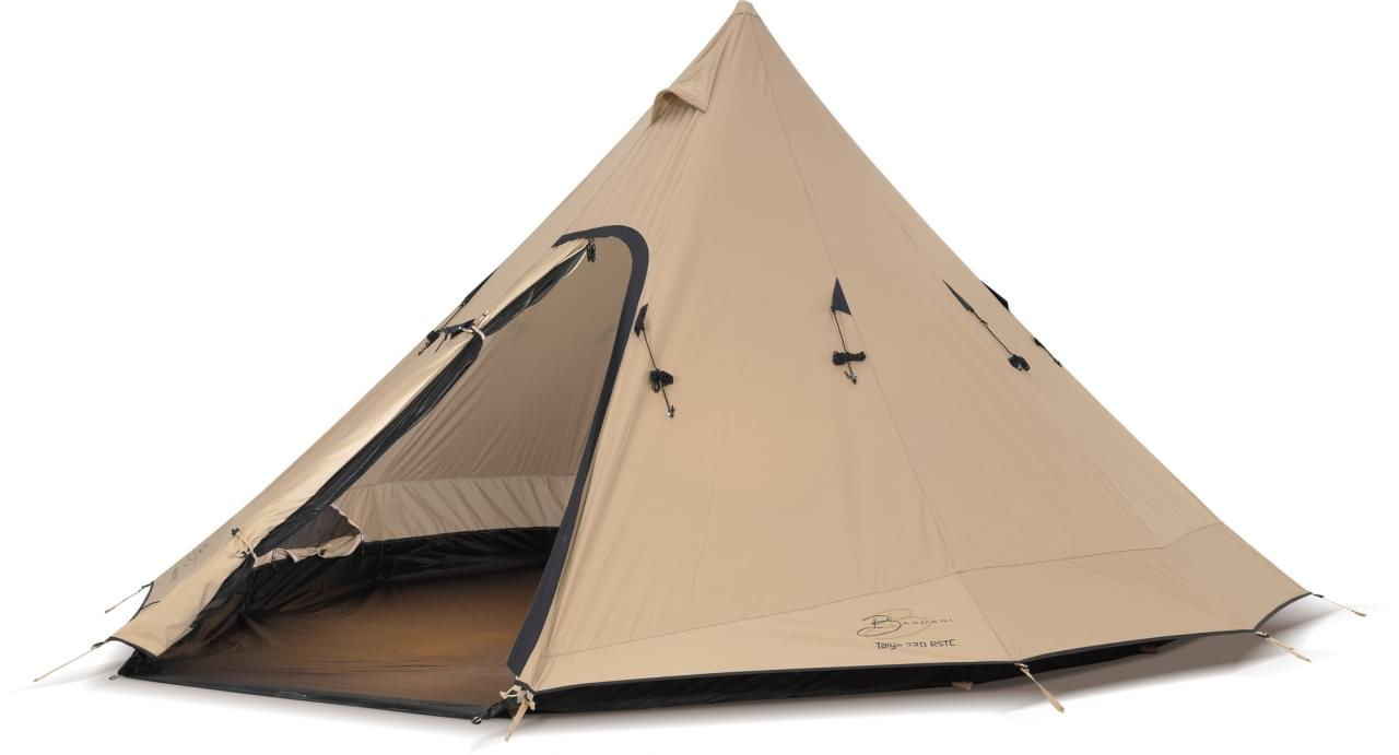 Bardani Taiga 320 RSTC - 4 Persoons Tent - Beige