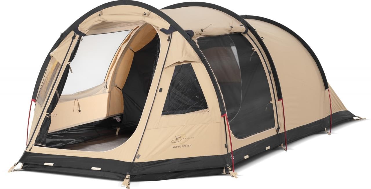 Bardani Mustang 220 RSTC - 3 Persoons Tent - Beige Grijs