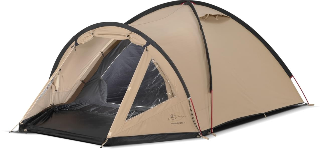 Bardani Stelvio 220 RSTC - 3 Persoons Tent - Beige Grijs