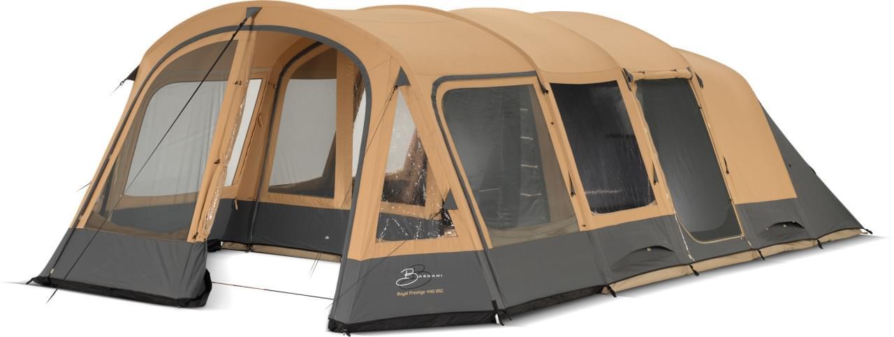 Bardani Royal Prestige 440 RSC / 5 Persoons Tent Beige