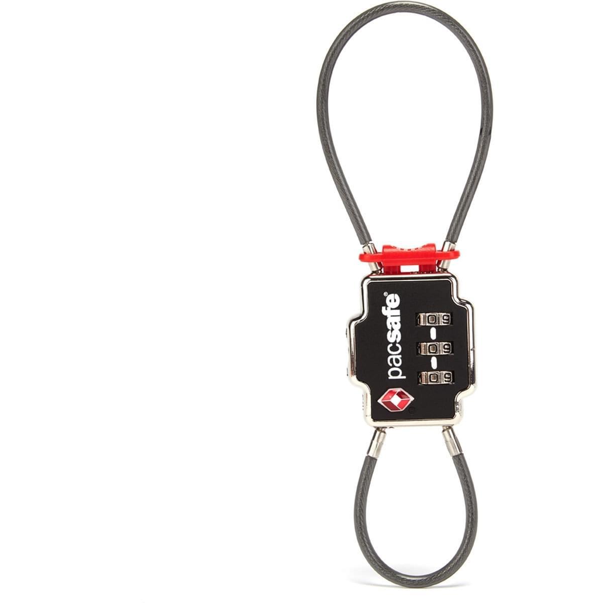 Pacsafe TSA 3 Dial Double Cable Lock - Kabelslot/Cijferslot