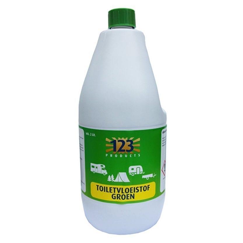 123 Toiletvloeistof Groen 2 Liter