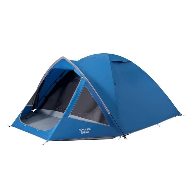 Vango Alpha 400 / 4 Persoons Tent - Blauw Blauw