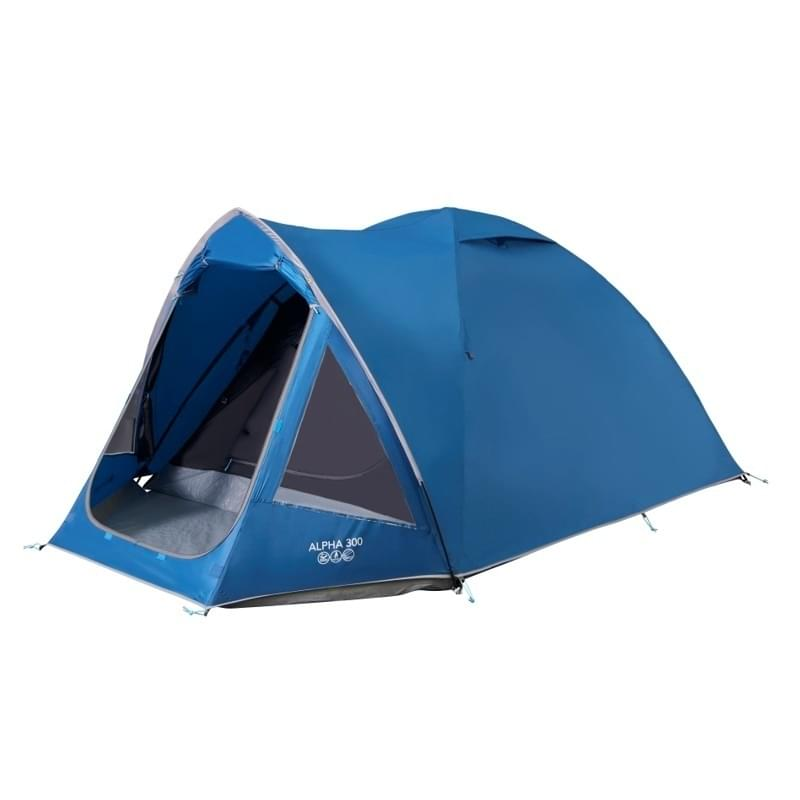 Vango Alpha 300 - 3 Persoons Tent - Blauw