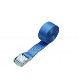 Loadlok Spanband met Klemgesp 2m Blauw