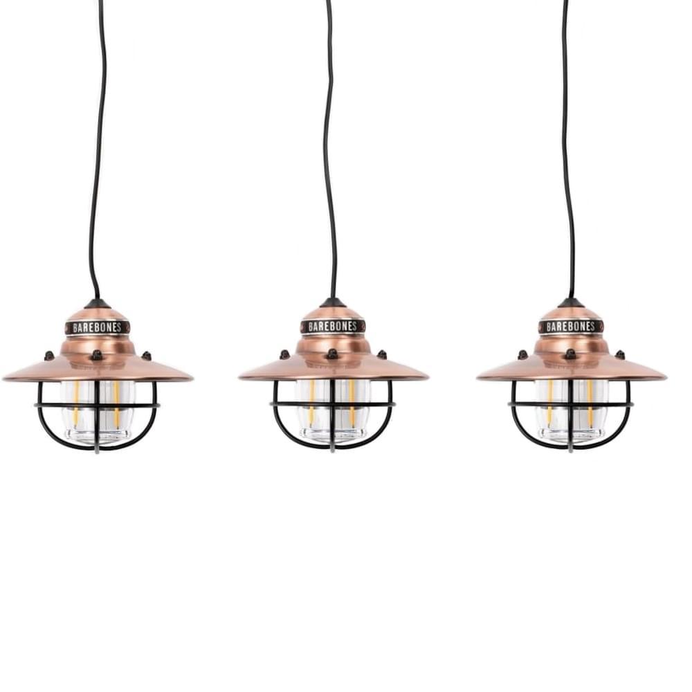 Barebones Edison String 3-Pack - Koper