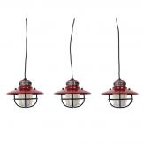 Barebones Edison String 3-Pack - Rood