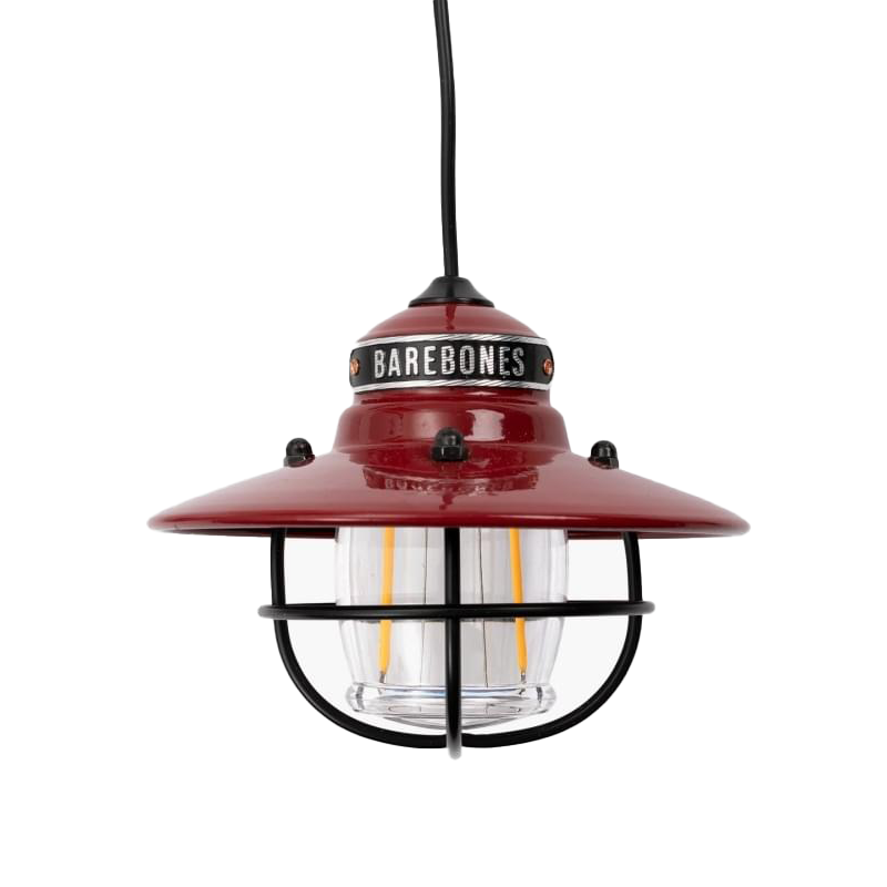 Barebones Edison Pendant Hanglamp - Rood