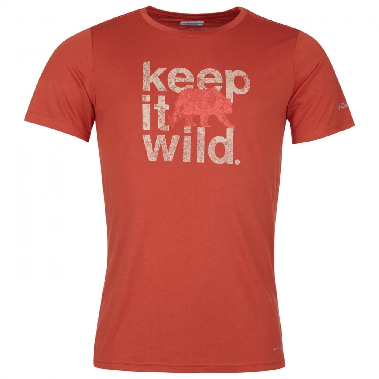 Columbia Terra Vale II T-Shirt Heren