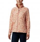 Columbia Fast Trek Light Printed Full Zip Fleece Jacket Dames