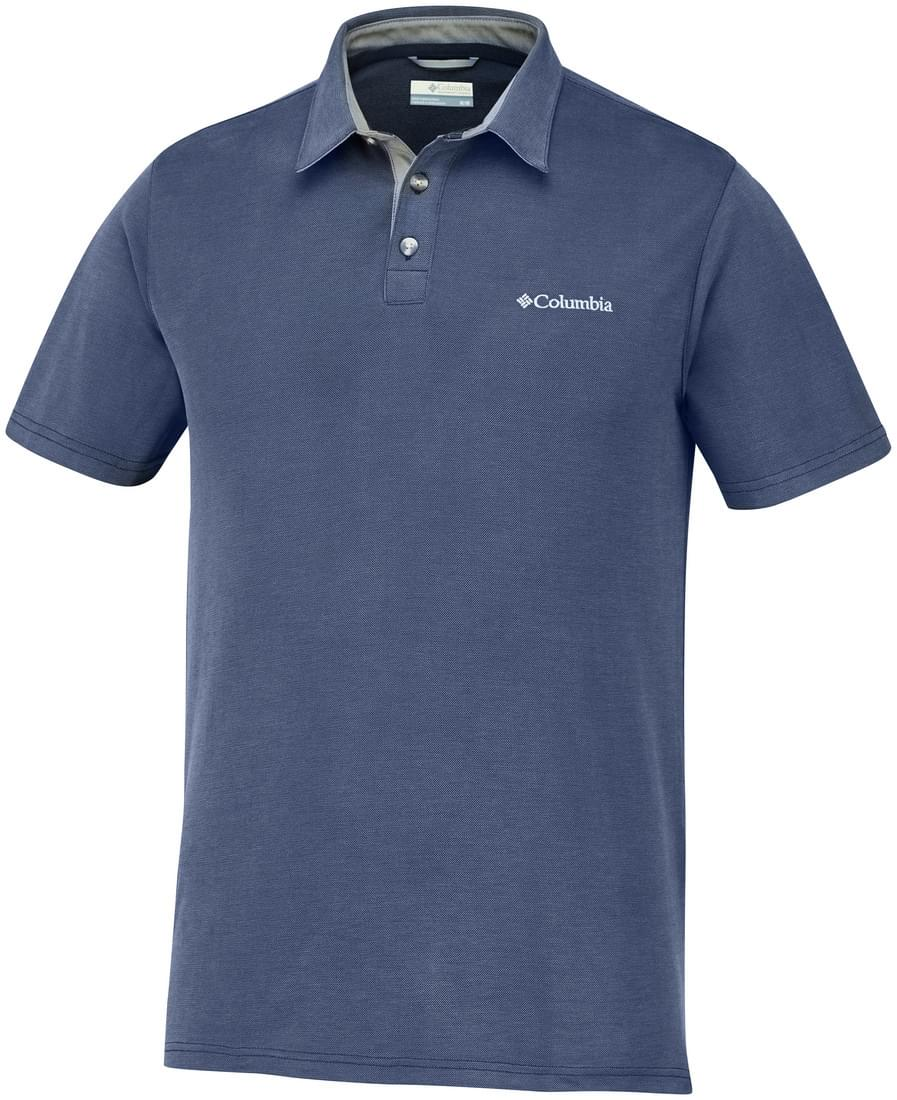 Columbia Nelson Point Polo Heren