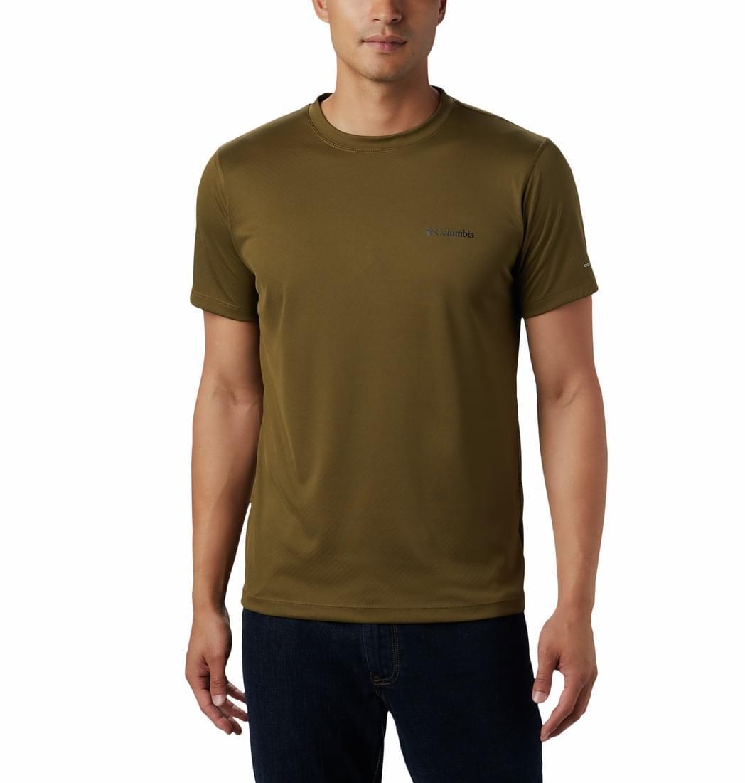 Columbia Zero Rules T-Shirt Heren Donkergroen