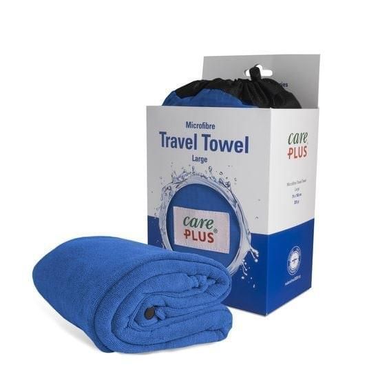 Care Plus Travel Towel Large - Blauw