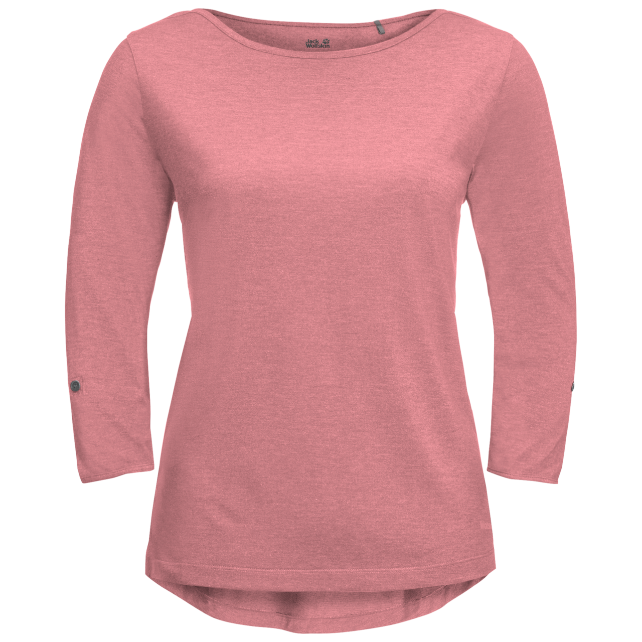 Jack Wolfskin Coral Coast T-Shirt Dames Roze