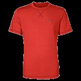 Jack Wolfskin Crosstrail T-Shirt Heren Rood
