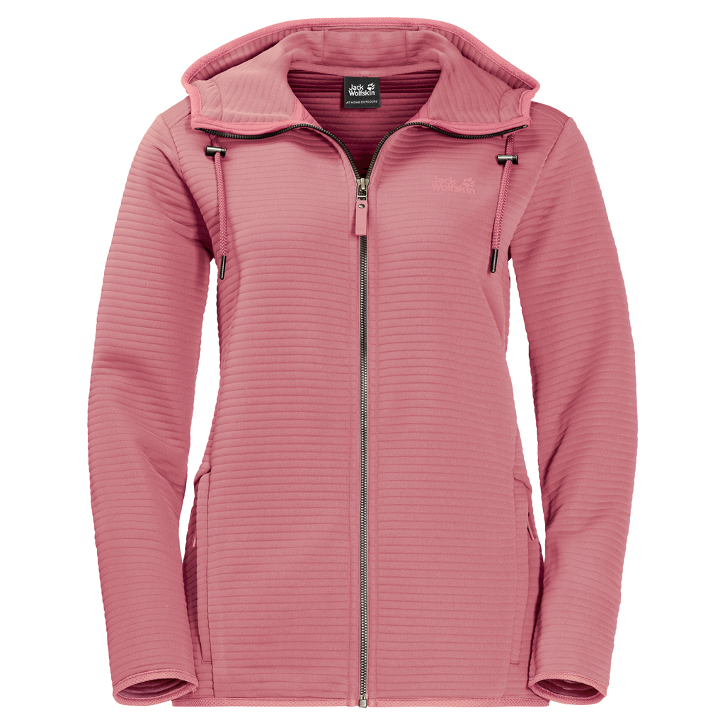 Jack Wolfskin Modesto Hooded Fleece Jacket Dames